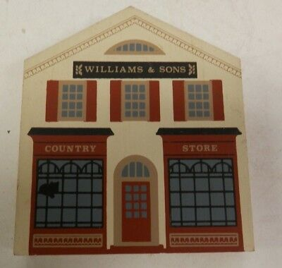 1988 - THE CAT'S MEOW Village - SERIES VI - WILLIAMS & SONS COUNTRY STORE