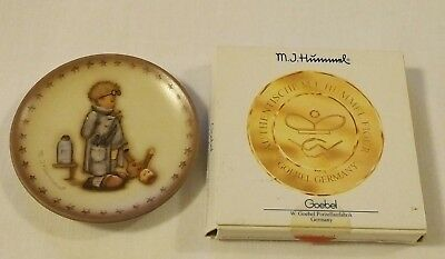 Mj Hummel Goebel Porcelain Doctor #1296 Mini Plate Hum 994