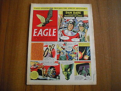 EAGLE COMIC - DECEMBER 3rd 1954 - VOL 5, No.49 - DAN DARE