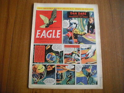 EAGLE COMIC - DECEMBER 17th 1954 - VOL 5, No.51 - DAN DARE