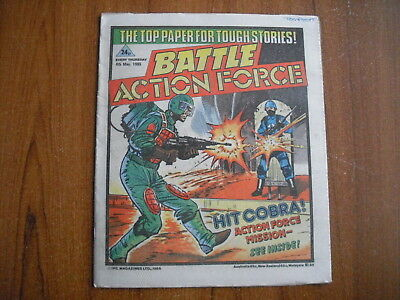 BATTLE ACTION FORCE COMIC - MAY 4th 1985