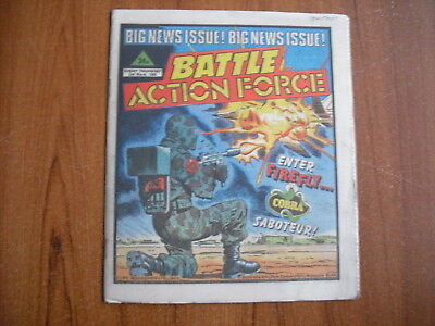 BATTLE ACTION FORCE COMIC - MARCH 2nd 1985