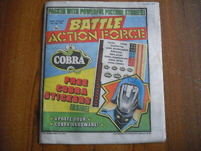 BATTLE ACTION FORCE COMIC - JUNE 15th 1985