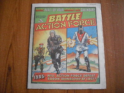 BATTLE ACTION FORCE COMIC - JANUARY 5th 1985