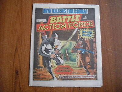 BATTLE ACTION FORCE COMIC - FEBRUARY 23rd 1985