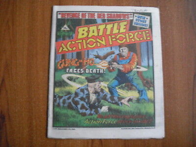 BATTLE ACTION FORCE COMIC - APRIL 27th 1985