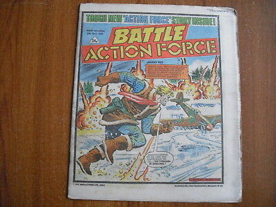 BATTLE ACTION FORCE COMIC - APRIL 20th 1985