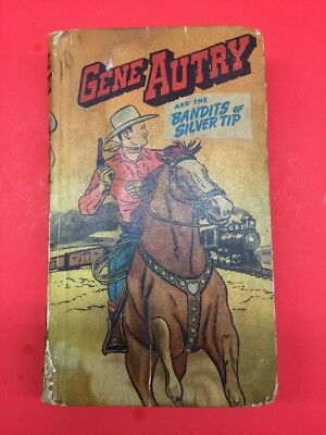 Vintage Better Little Book Gene Autry & The Bandits Of Silver Tips #700-10-TCC