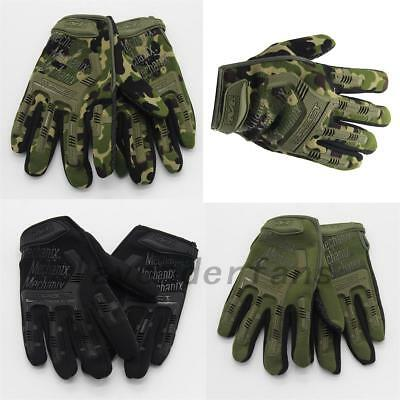 Military Tactical Work Gloves Technician Cycling Outdoor Non-slip Quality AU