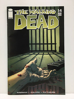 The Walking Dead comic book #14 First Printing Image Comics