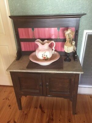 Vintage Antique Wash Stand