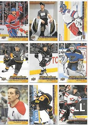 U PICK EM LOT 2017-18 17-18 Upper Deck Series 1 & 2 UD Canvas YG RC Legends POE