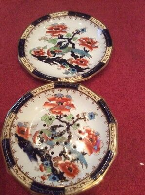 "Losolware Keeling & Co Ltd Burslem England ""Shanghai"" Drainer Dish And Plate"