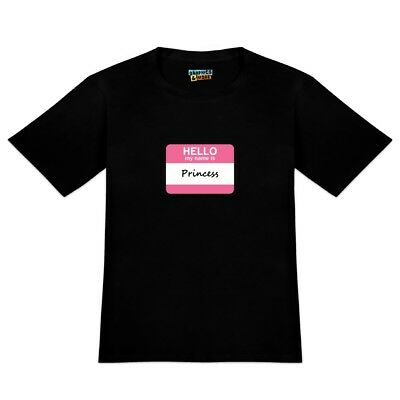 Princess Hello My Name Is Men's Novelty T-Shirt