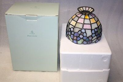 Partylite Shade or Globe Only for a Hydrangea Tealight Lamp 4 P7790 Original Box