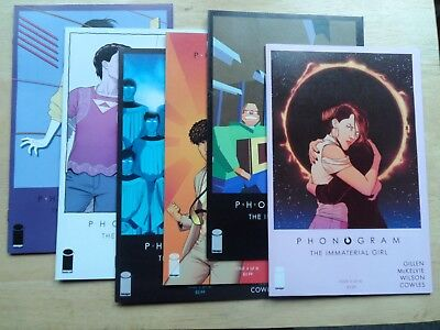 PHONOGRAM: THE IMMATERIAL GIRL #1 - 6 - (Complete Set) - Image - Rare