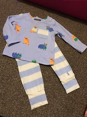Joules Baby Boys 6-9 Months T-Shirt & Trousers Set