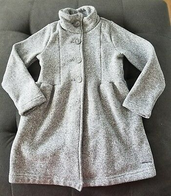 Patagonia Better Sweater Fleece Coat Girls Size 10 Gray