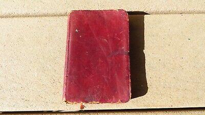 VINTAGE SPANISH AMERICAN War SpanAm Pocket Bible Prayer Book