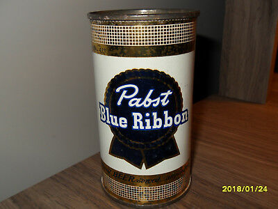 PABST 12ozs  FLAT TOP BEER CAN