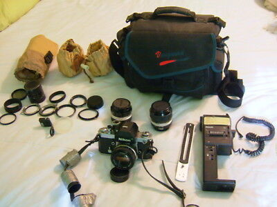 Nikon F1 Outfit with 3 lenses ++