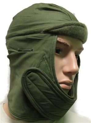 Olive Drab Pile Cap - Insulated Helmet Liner Hat Cap Army Military 73/4 L-XL