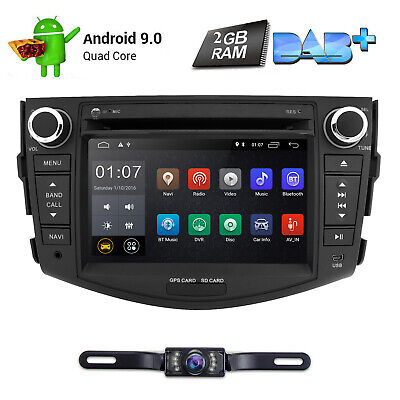 FOR TOYOTA RAV4 2006-2012 Car DVD Player GPS Stereo Radio Android 7.1 2GB RAM+CA