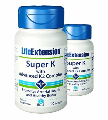 Life Extension Super K with Advanced K2 Complex 90 x 2 180