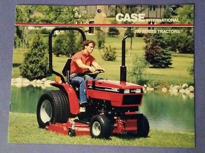 Case International 200 Series Tractor Brochure 15 Pages