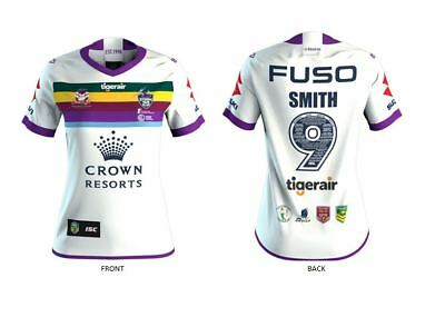 Melbourne Storm Nrl Cameron Smith Testimonial Game Adults Mens Jersey