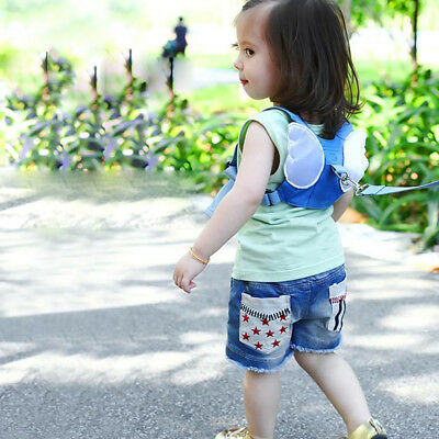 Baby Safety Harness Walking Belt Backpack Style Belt Leash Helper Child Strap
