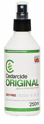 Cedarcide Original Treatment For Mites, Fleas & Ticks. For Dogs/Other Pets 250ml