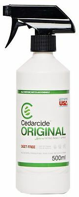 Cedarcide Original Treatment For Mites, Fleas & Ticks. For Dogs/Other Pets 500ml