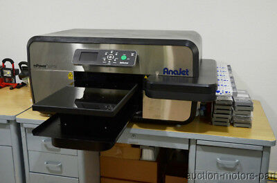 Anajet mPower mp5i Direct to Garment Printer T-Shirt Print & Heat Press Accessor