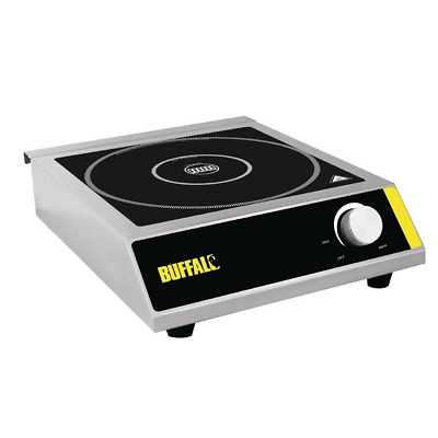 Buffalo Induction Hob 3000W Cooker top  Single Ring Commercial