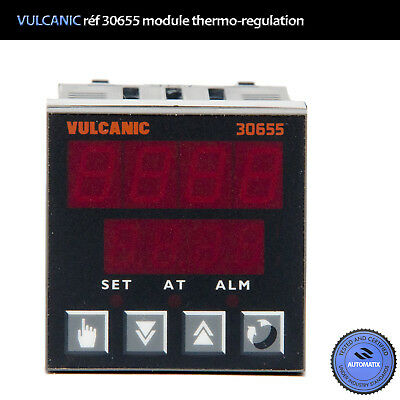 VULCANIC réf 30655 Temperature Control System Panel // USED
