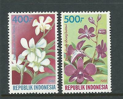 1988 Flora set 2 stamps complete MUH/MNH