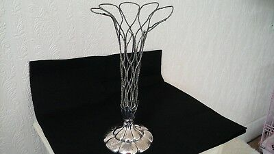 Antique Epergne - Silver Plated, Damaged Victorian, For Refurbishment Or Parts
