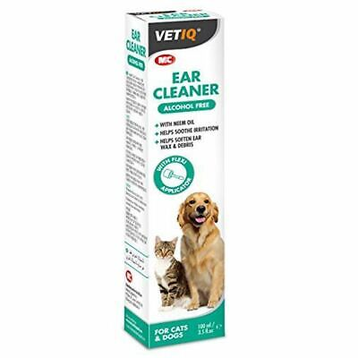 Vetiq Antibacterial & Antifungal Ear Cleaner For Dogs & Cats