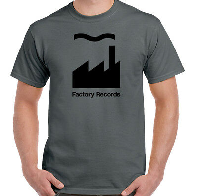 Factory Records - Record Label - Mens Music T-Shirt Happy Mondays OMD FAC51