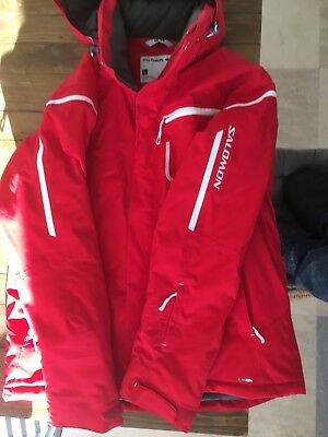 salomon ski jacket large clima pro (used vgc)