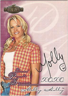 "WWF Championship Clash - DPS-MH ""Molly Holly"" Autograph Card"