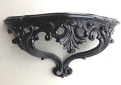 Wall Console Black Spiegelkonsolen Baroque/Wall Shelf Antique 38x20 Baroque Cp67