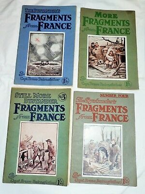 BYSTANDER'S FRAGMENTS FROM FRANCE No 1, 2, 3 & 4  BY CAPT BRUCE BAIRNSFATHER