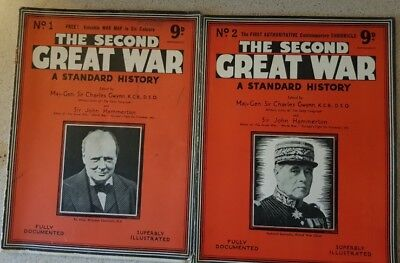 The Second Great War A Standard History.#1 _ #104 (103 issues, 1 missing)
