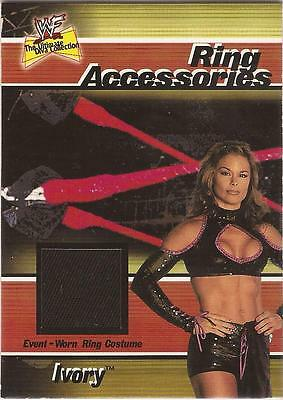 "WWF Ultimate Diva - Ring Accessories ""Ivory"" Costume Card"