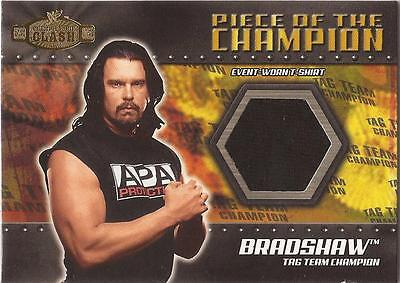 "WWF Championship Clash - PC-B ""Bradshaw"" Piece of the Champion Card"