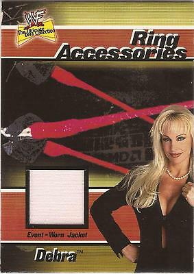"WWF Ultimate Diva - Ring Accessories ""Debra"" Costume Card"