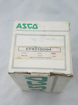 New In Box Asco Red Hat 8210G094 New Solenoid Valve Ef8210G94 New