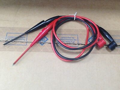 Vintage AVO test leads probes Connector Mk2. UK only postage.